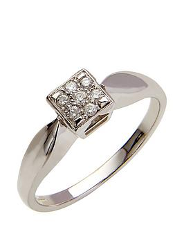 love-diamond-9-carat-white-gold-10-point-diamond-multi-stone-square-set-ring