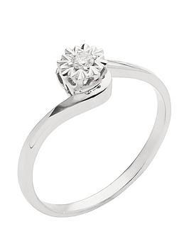 love-diamond-9-carat-white-gold-5-point-diamond-illusion-twist-solitaire-ring