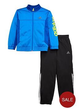 adidas-originals-adidas-younger-boys-linear-logo-poly-suit