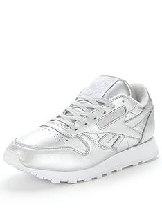 reebok-cl-spirit-metallic-trainer
