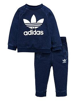 adidas-originals-adidas-originals-baby-boy-denim-crew-suit