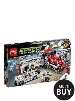 lego-speed-champions-porsche-919-hybrid-and-917k-pit-lane-75876-amp-free-lego-city-brickmaster