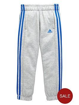 adidas-older-boys-climalitenbspthree-stripe-pants