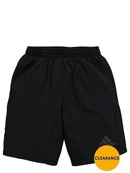 adidas-older-boys-woven-shorts