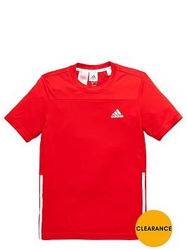 adidas-older-boys-poly-training-tee