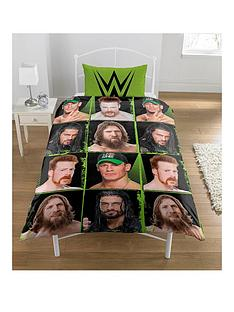 wwe-superstars-rotary-single-duvet-cover-and-pillowcase-set