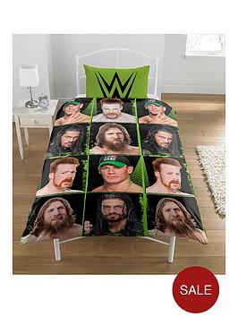 wwe-superstars-rotary-single-duvet-cover-and-pillowcase-set