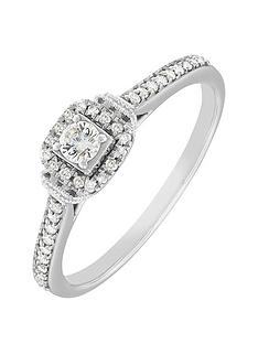 love-diamond-9ct-white-gold-28-point-cushion-cut-cluster-ring-with-stone-set-shoulders