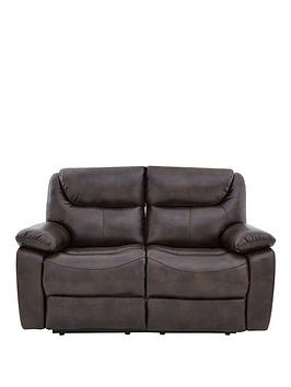 partonnbspluxury-faux-leather-2-seater-manual-recliner-sofa