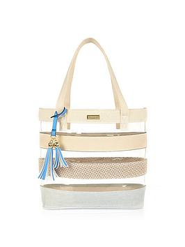 river-island-girls-stripe-perspexnbspshopper