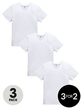 v-by-very-stretch-white-t-shirts-3-pack