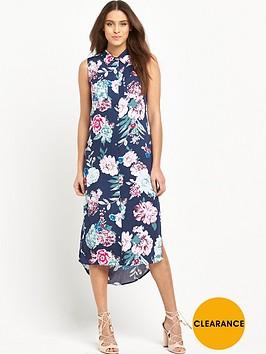 mink-pink-little-blossom-sleeveless-midi-shirt-dress-with-side-splits