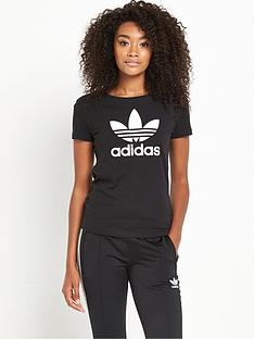 adidas-originals-trefoil-t-shirt-black