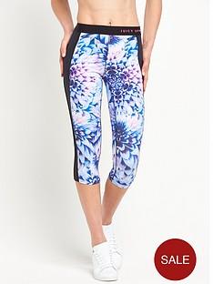 juicy-sport-prism-floral-compression-crop-legging