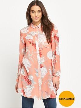mink-pink-back-yard-bliss-roll-sleeve-tunic-shirt