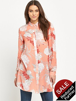 mink-pink-back-yard-bliss-roll-sleeve-tunic-shirt