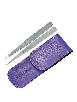 tweezerman-petite-tweeze-set-with-lavender-case
