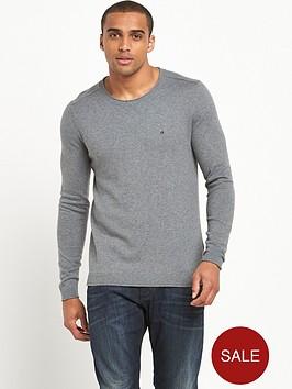 calvin-klein-small-logo-knitted-jumper
