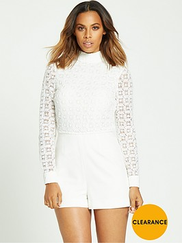 rochelle-humes-guipurenbsptop-playsuitnbsp