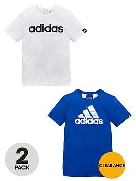 adidas-older-boys-pk-2-logo-tees