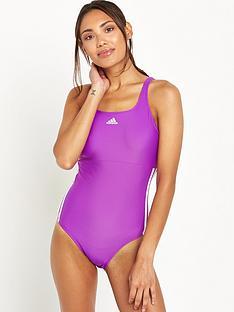adidas-infinitexreg-3-stripe-swimsuitnbsp