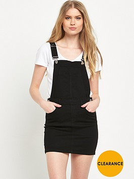 river-island-denim-dungaree-mini-dress