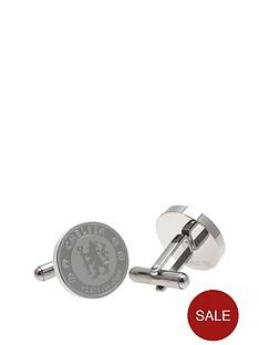 chelsea-stainless-steel-crest-cufflinks