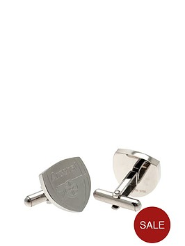 arsenal-stainless-steel-crest-cufflinks