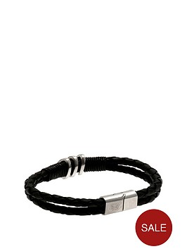 celtic-stainless-steel-and-leather-crest-bracelet