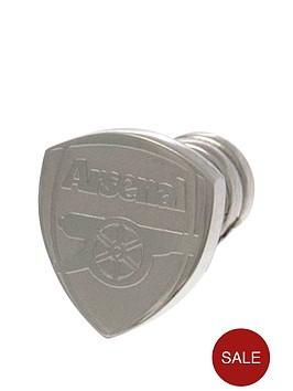 arsenal-stainless-steel-crest-stud-earring