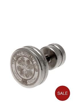 celtic-stainless-steel-crest-stud-earring