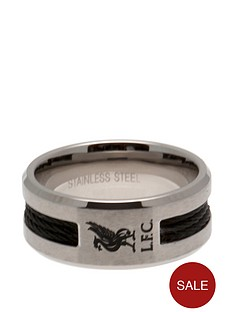 liverpool-stainless-steel-black-inlay-crest-ring