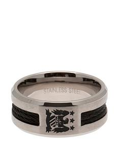 manchester-city-stainless-steel-black-inlay-crest-ring