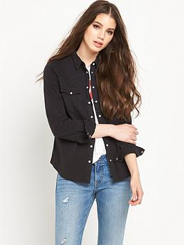 levis-modern-western-long-sleeve-denim-shirt-black-ink