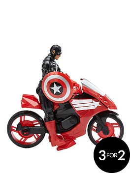 captain-america-and-bike