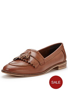 v-by-very-grafton-wide-fit-leather-tassel-loafer-tan