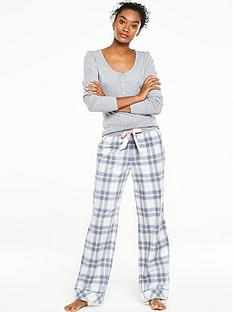 v-by-very-long-sleeve-lounge-top-with-check-pant