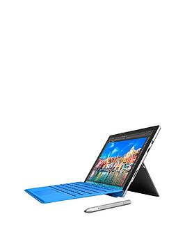 microsoft-surface-pro-4-intelregnbspcoretrade-i5-processornbsp8gb-ramnbsp256gb-solid-state-drive-tablet-wi-fi-123-inch-with-cover