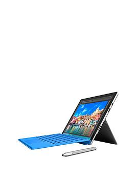microsoft-microsoft-surface-pro-4-intelreg-m3-processor-4gb-ram-128gb-solid-state-drive-wi-fi-123-inch-tablet-with-blue-type-cover-and-optional-microsoft-office-365-personal-and-blue-type-cover