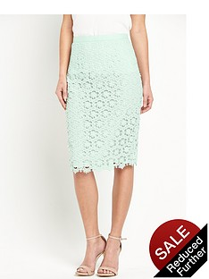 miss-selfridge-lace-pencil-skirtnbsp