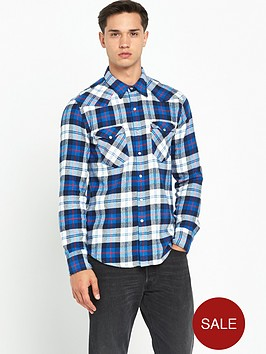 levis-barstow-western-checked-shirt