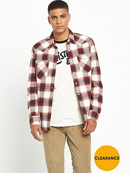 levis-sawtooth-western-checked-shirt