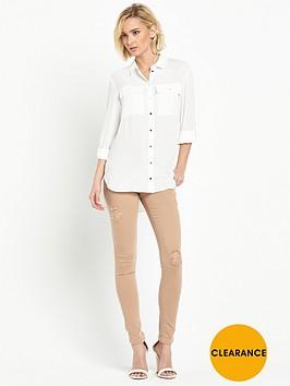 miss-selfridge-double-pocket-shirt