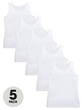 top-class-girls-white-school-vests-5-pack
