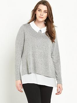 junarose-curve-2-in-1-shirt-and-knit