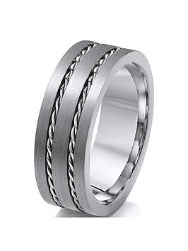 titanium-rope-patterned-edge-8mm-mens-ring