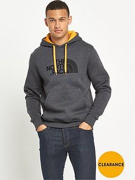 the-north-face-drew-peak-mens-pullover-hoodie-dark-grey-heather