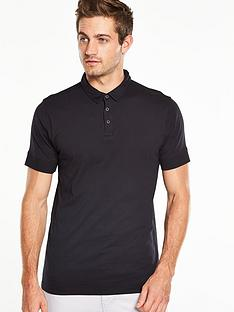 v-by-very-short-sleeve-studded-jersey-polo