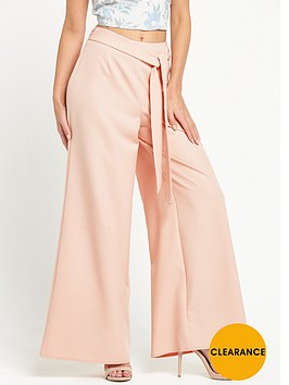 miss-selfridge-self-tie-wide-leg-trousernbsp