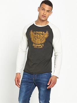 denim-supply-ralph-lauren-denim-amp-supply-ralph-lauren-long-sleeve-baseball-t-shirt